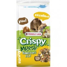 Crispy muesli hamster and co